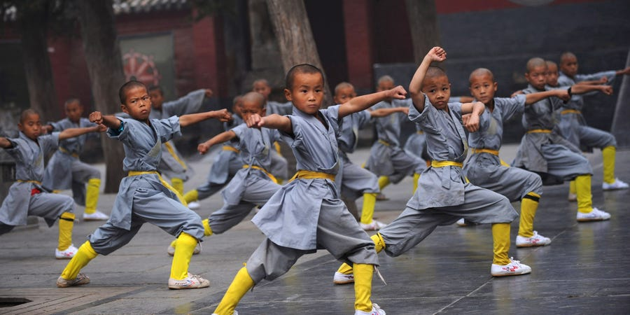 Some Benefits Of Learning Kungfu